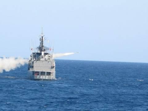 Επίδειξη δύναμης από το Πολεμικό Ναυτικό