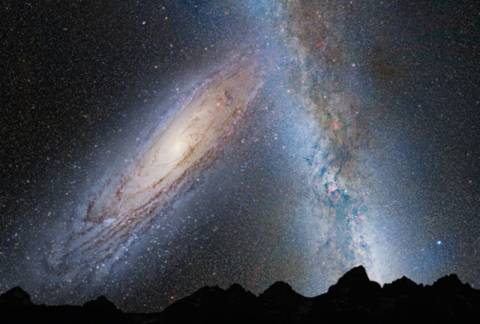 NASA: Έτσι θα συγκρουστεί ο γαλαξίας μας με την Ανδρομέδα