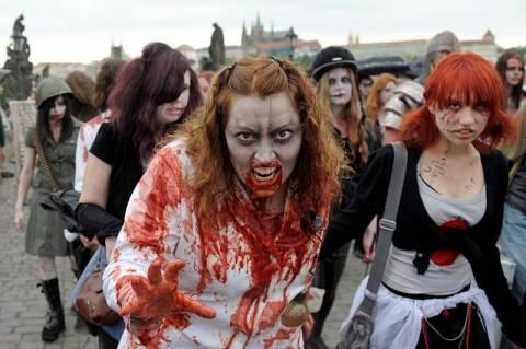 «Επιδημία» ζόμπι τρομοκρατεί τους Αμερικανούς