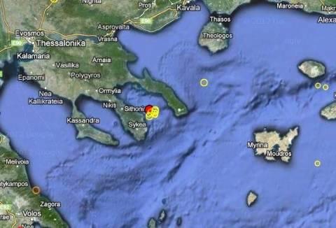 Σεισμός 3,2 Ρίχτερ δυτικά του Αγίου Όρους
