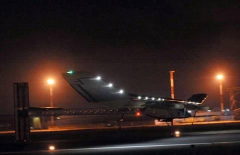Πρώτη διηπειρωτική πτήση για το ηλιακό αεροσκάφος Solar Impulse