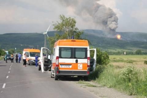 Ολονύκτιες εκρήξεις πυρομαχικών στη Βουλγαρία (βίντεο)