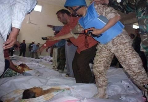 H Μόσχα καταδίκασε τη σφαγή στη Χάμα