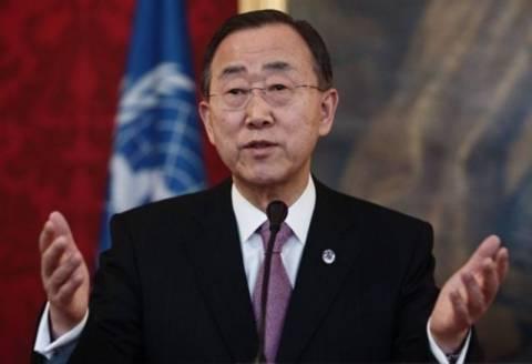 Μπαν κι Μουν:Θα τιμωρηθούν οι υπεύθυνοι της αιματοχυσίας στη Συρία
