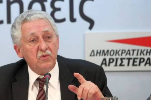 Κουβέλης: Συνεργασία με το ΣΥΡΙΖΑ με τους δικούς μας όρους