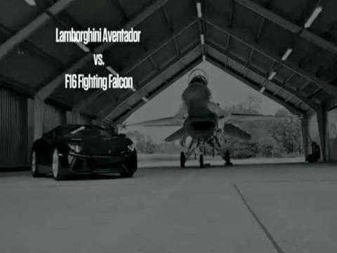 Βίντεο: Lamborghini κάνει κόντρα με F-16 – Ποιος κέρδισε;
