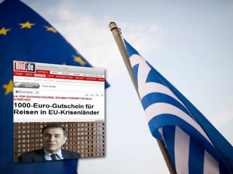 Ρουμπινί: Μην τραβήξετε την «πρίζα» στους Έλληνες