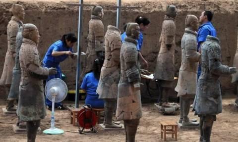 Κίνα: Στο «φως» 110 πήλινοι πολεμιστές
