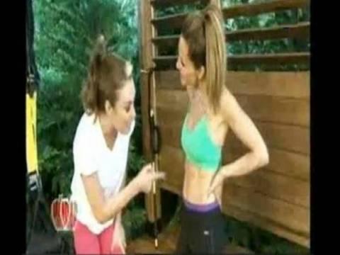 Δέσποινα Βανδή-Τατιάνα Στεφανίδου: Δείτε τις να κάνουν γυμναστική