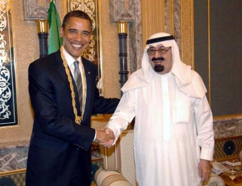 Τα είπαν... στο τηλέφωνο ο Ομπάμα με τον βασιλιά Αμπντάλα