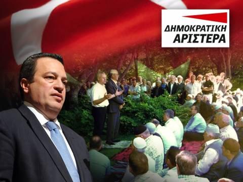 Μουσουλμάνος υποψήφιος της ΔΗΜΑΡ καλλιεργεί το μίσος στη Θράκη