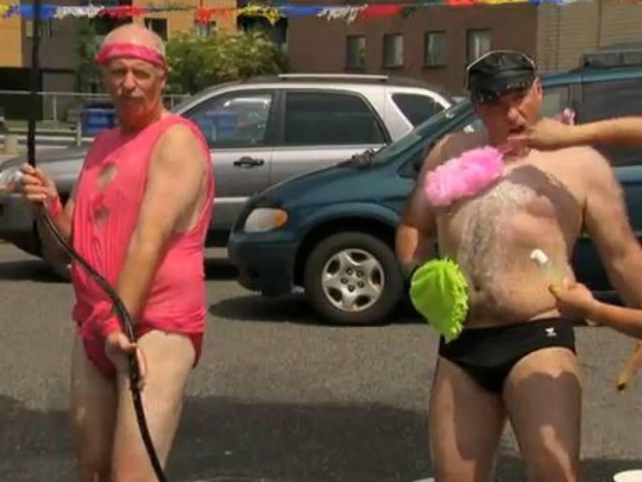 Πλύσιμο αυτοκινήτων γκέι σεξ