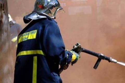 Πυρκαγιά και στο Κάτω Σούλι, Μαραθώνα