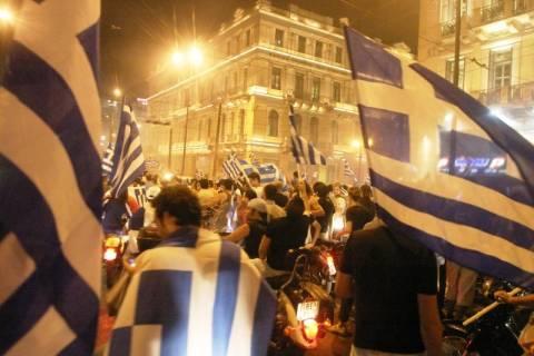 Πλατεία Ομονοίας: Μετά τους πανηγυρισμούς... επεισόδια