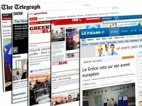 Οι ελληνικές βουλευτικές εκλογές πρωτοσέλιδο στα διεθνή Μέσα