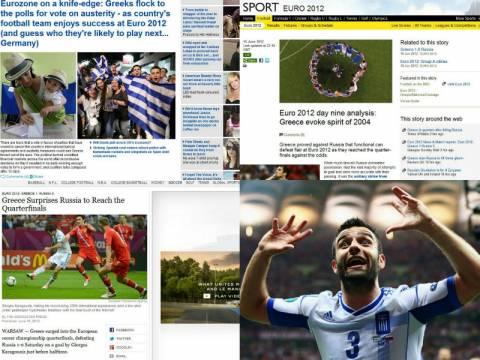 Ο θρίαμβος της Εθνικής Ελλάδος κάνει το γύρο του κόσμου!