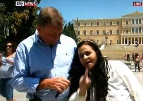 Βίντεο: Η Ελένη Λουκά στο Skynews