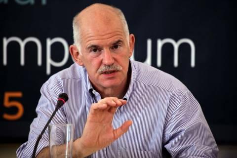 Γ. Παπανδρέου: Μόνη ρεαλιστική λύση η έκδοση ευρωομολόγου