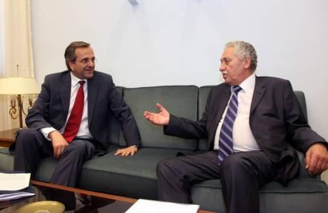 Φ.Κουβέλης: Λευκή επιταγή είναι προφανές ότι δεν δίνω