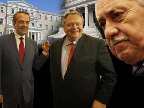 «Κλειδώνει» η συμφωνία για τρικομματική κυβέρνηση