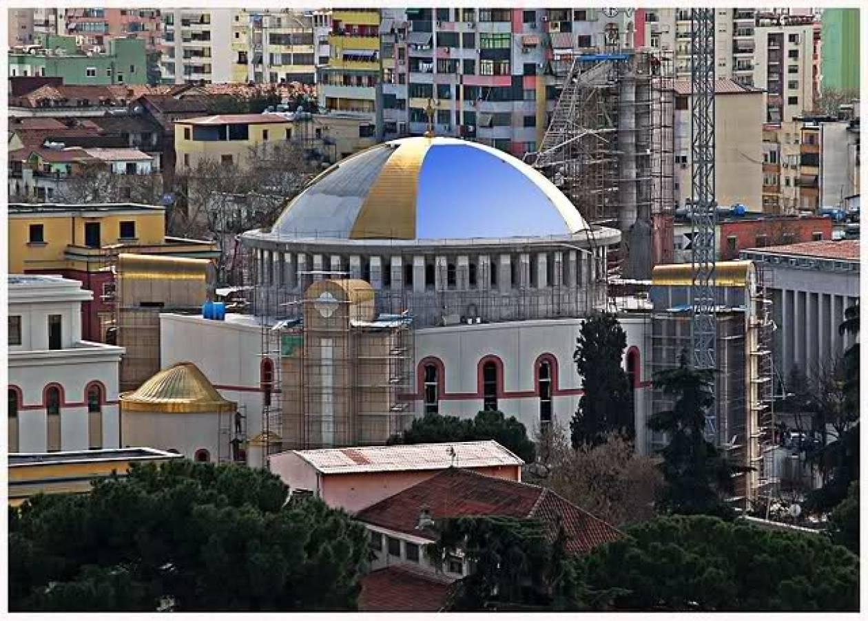 Σημείο αναφοράς ο νέος ορθόδοξος Καθεδρικός Ναός των Τιράνων