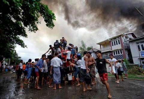 Μιανμάρ: Συνεχίζονται οι συγκρούσεις μουσουλμάνων-βουδιστών