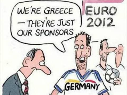 Ελλάδα – Γερμανία: Προκαλεί το BBC με ειρωνική γελοιογραφία