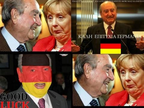 Ελλάδα - Γερμανία: Όλοι ποντάρουν στον Μητσοτάκη (pics)