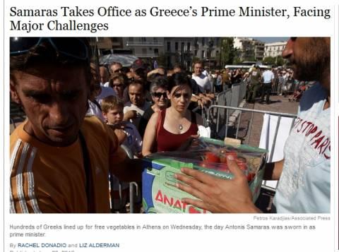 NΥ Times: Ο Σαμαράς είναι ένας φιλοευρωπαϊστής και εθνικιστής