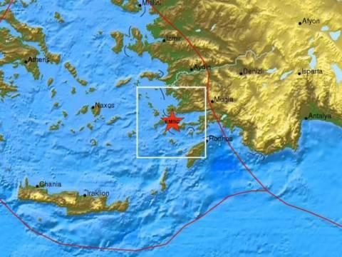 Σεισμός 3,6 Ρίχτερ στην Κω