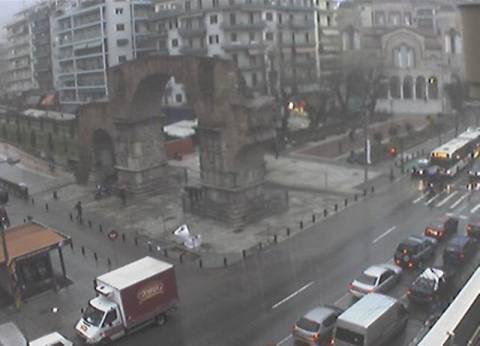 Προβλήματα από την καταιγίδα στη Θεσσαλονίκη