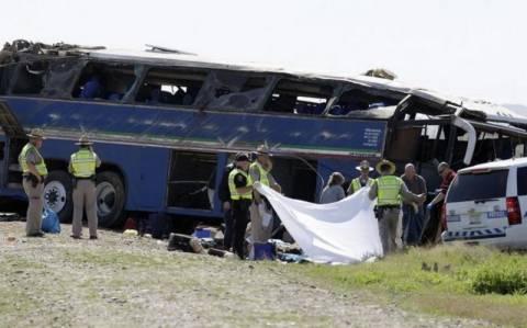 Τραγωδία στο Μεξικό: 32 νεκροί σε δυστύχημα με λεωφορείο