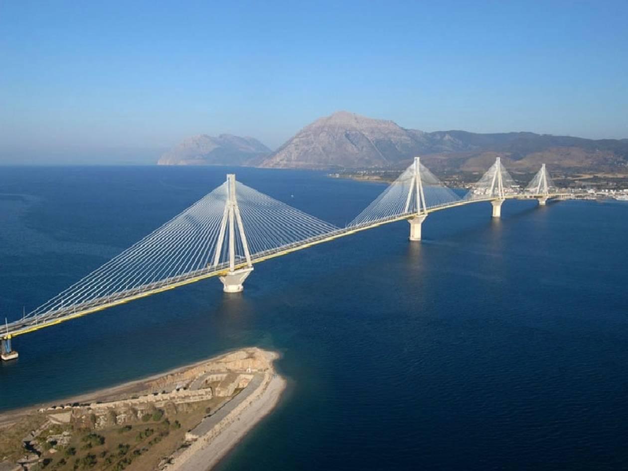Συναγερμός στη γέφυρα Ρίου-Αντιρρίου από ύποπτο δέμα