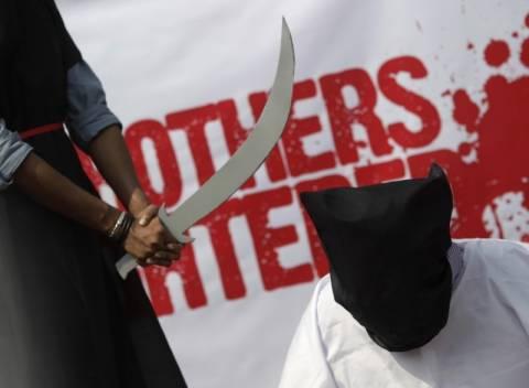 Σαουδική Αραβία: Του πήραν το κεφάλι με σπαθί