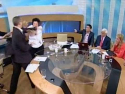 Το «ξύλο» στην ελληνική τηλεόραση σε ένα βίντεο!