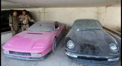 Η συλλογή των πολυτελών αυτοκινήτων του γιού του Σαντάμ Χουσεϊν