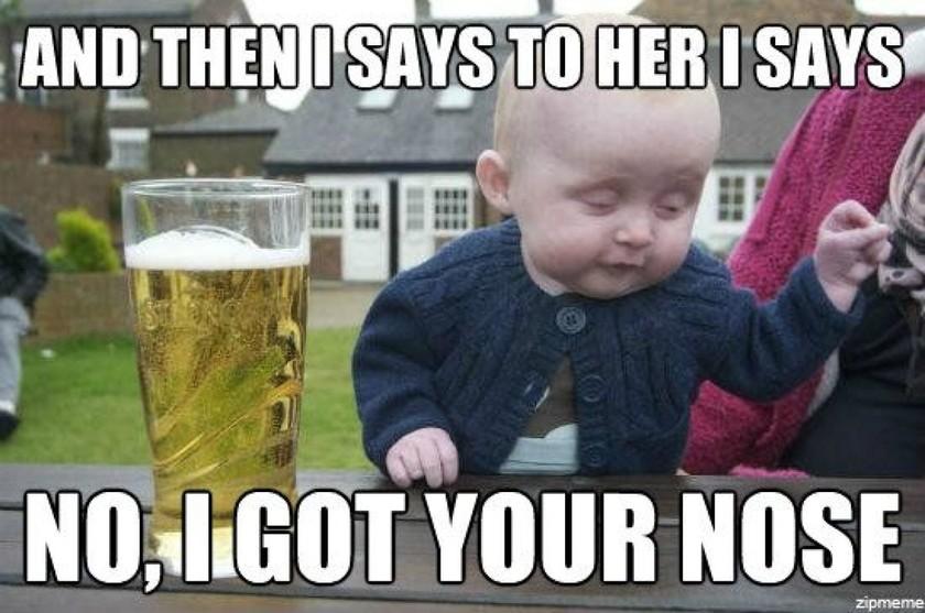 To.. μεθυσμένο μωρό που κατέκτησε το διαδίκτυο! (pics)