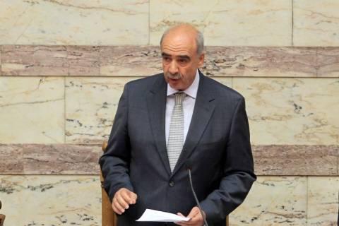 Αλλαγές στον κανονισμό της Βουλής προανήγγειλε ο Β. Μεϊμαράκης