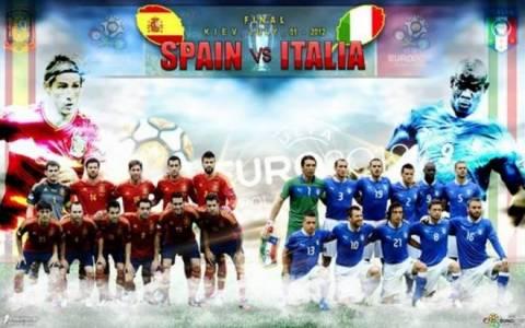 LIVE Ισπανία – Ιταλία