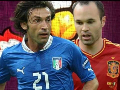 Ισπανία - Ιταλία: Χαμός στο Twitter για τον μεγάλο αγώνα