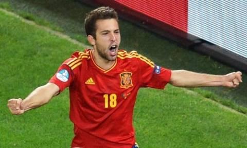 Euro 2012: 2-0 η Ισπανία στο τέλος του α' ημιχρόνου