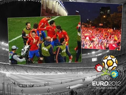 """Στο """"θρόνο"""" της Ευρώπης η Ισπανία"""
