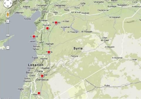 Συρία: 27 κέντρα βασανισμού των μυστικών υπηρεσιών