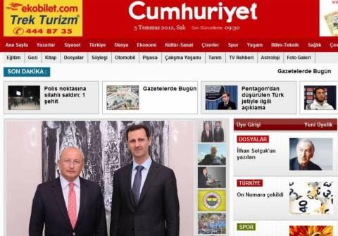 Ο Άσαντ «τα μαζεύει» για την κατάρριψη του τουρκικού μαχητικού