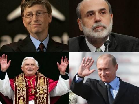 Οι 10 πιο ισχυροί ανθρώποι στον πλανήτη!
