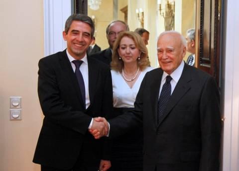 Τι συζήτησε ο Κ. Παπούλιας με τον Βούλγαρο πρόεδρο
