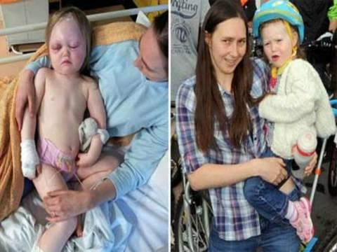 Ένα χιλιοστό πριν το θάνατο βρέθηκε κοριτσάκι 2 ετών!