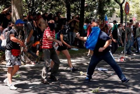 ΦΩΤΟΡΕΠΟΡΤΑΖ: Τα επεισόδια στην Ισπανία