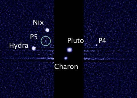 Ανακαλύφθηκε και πέμπτος δορυφόρος στον Πλούτωνα!