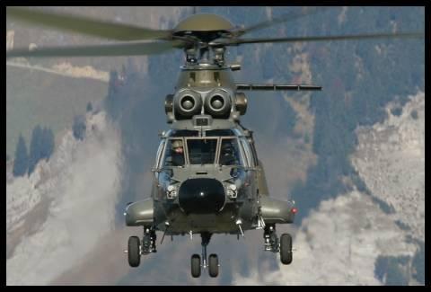 Αεροδιακομιδή τραυματία από Super Puma της ΠΑ